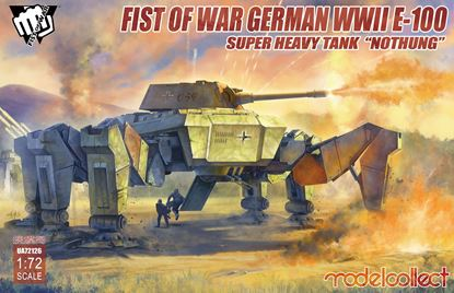 """Picture of Fist of War German WWII E-100 Supper Heavy Tank """"Nothung"""""""