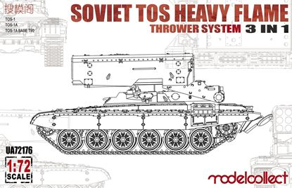 Picture of Soviet TOS Heavy Flame Thrower System 3 in 1