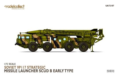 Picture of Soviet 9P117 Strategic missile launcher (SCUD B) early type