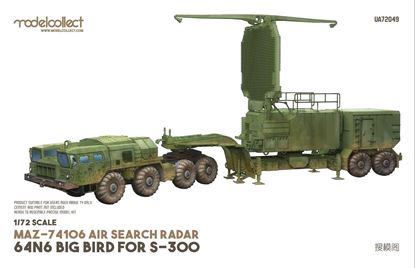 Picture of MAZ-74106 air search radar 64N6 BIG BIRD for S-300